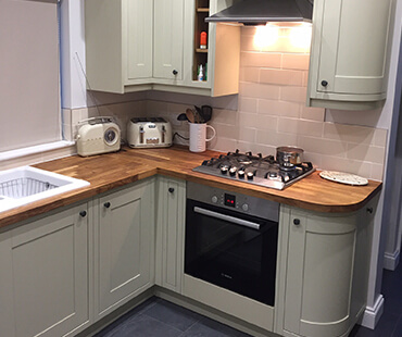 GE Carpentry, a remodelled kitchen