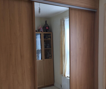GE Carpentry, fitted wardrobe storage