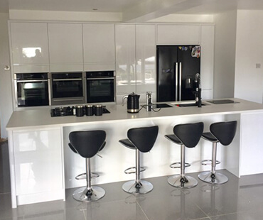 GE Carpentry, new kitchen fitted