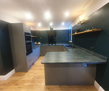 GE Carpentry, Dark Kitchen