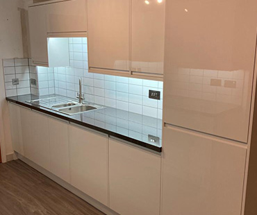 GE Carpentry, White Kitchen